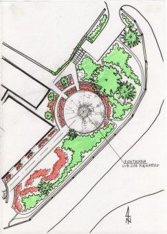 koncepcja zagospodarowania terenu zieleni fabryki